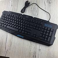 Игровая клавиатура с подсветкой Wired Tricolor M200 геймерская keyboard