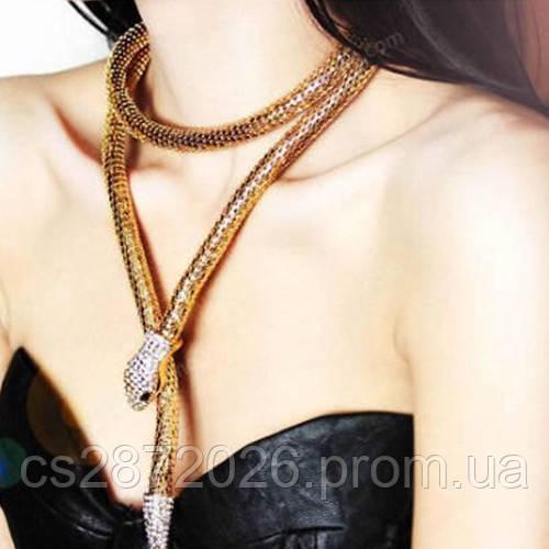 Ожерелье оригинальное Змея