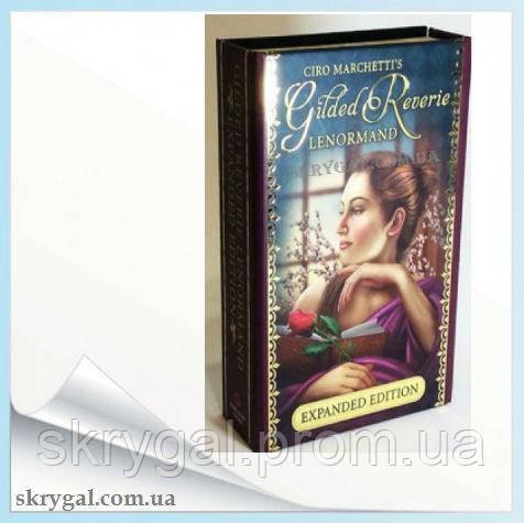 Ленорман Золотые Мечты. Карты Lenormand Gilded Reverie. Expanded Edition.