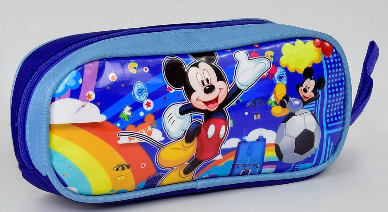 303d14fca9dd Детский портфель ранец для школы 2 Школьный рюкзак ортопедический + Пенал  Микки Маус для мальчика. Детский портфель ранец для школы 2