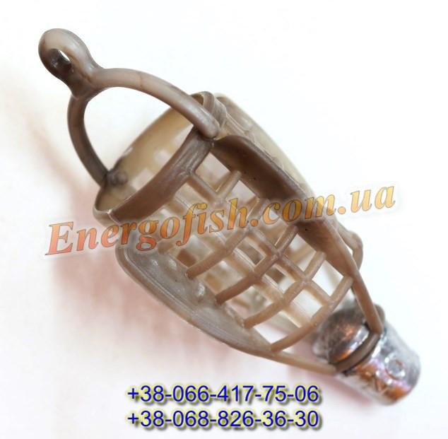 Кормушка фидерная Пуля пластик 110g