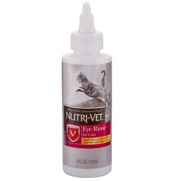 Nutri-Vet Eye Cleanse  глазные капли для кошек, 118 мл