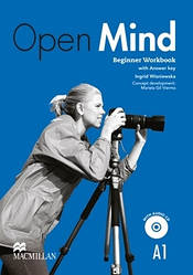 Open Mind British English Beginner Worbook with key and Audio-CD