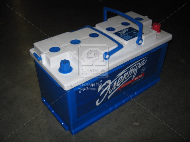 Аккумулятор 90Ah ЭЛЕКТРА 700A R (Правый+ Евро)