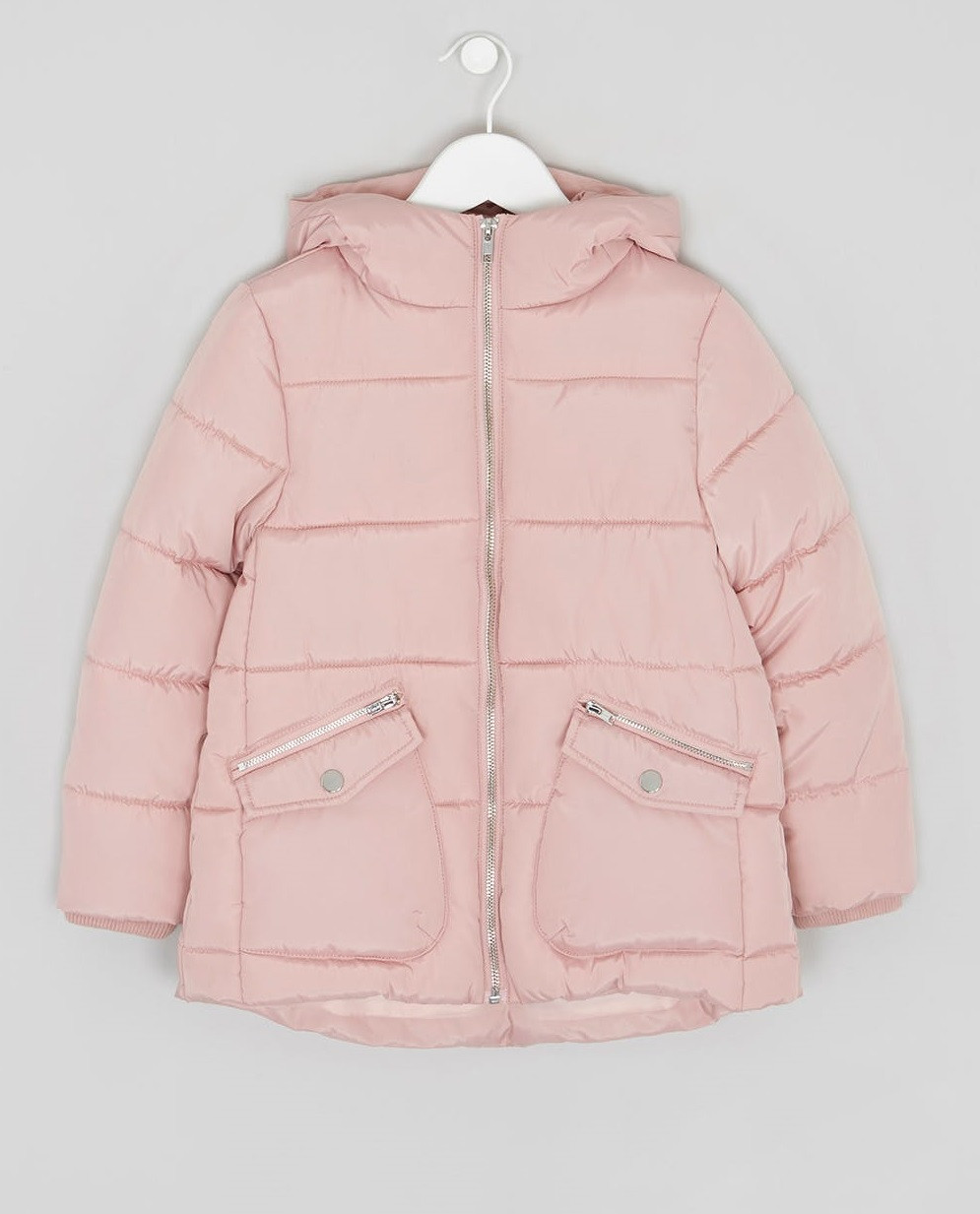 Демисезонная куртка для девочки розовая Matalan Англия
