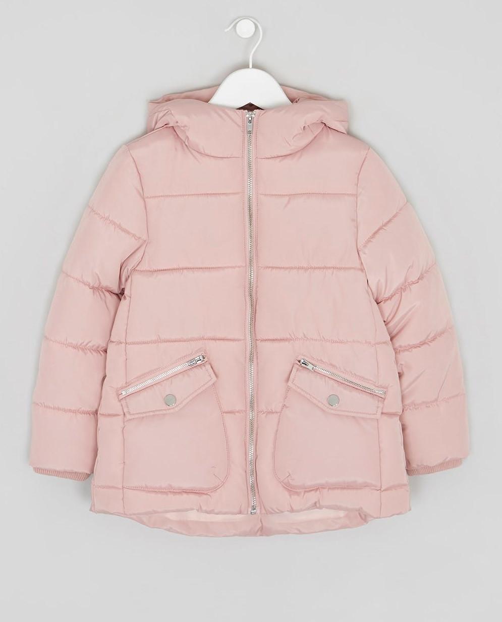 38ea393d717 Демисезонная куртка для девочки розовая Matalan Англия - Интернет-магазин