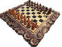 Vip шахматы-нарды ручной работы