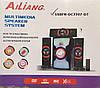 Акустическая система 3.1 AILIANG USBFM-DC3307-DT, (USB/Karaoke/Bluetooth/FM-радио)  , фото 2