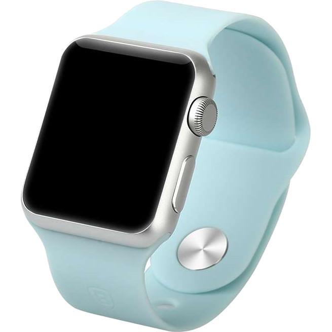 """Ремешок для Apple Watch 42/44 mm """"нежно голубой"""" №43"""