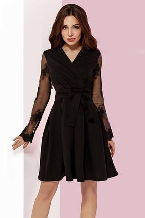 7749f88ceb0 Нарядное платье с кружевными рукавами  Цена