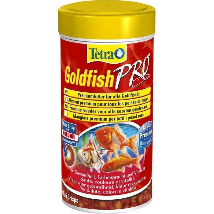 Корм Tetra GoldFish Pro Crisps для золых рыбок в чипсах, 100 мл