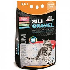Наполнитель Comfy Sili Gravel для кошек силикагелевый, 7.6 л
