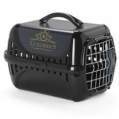 Moderna Trendy Runner Luxurious Pets – переноска для кошек c металлической дверцей и замком IATA