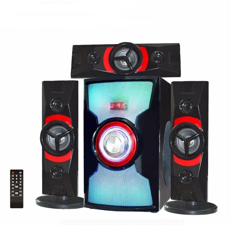 Акустическая система 3.1 AILIANG USBFM-DC3307-DT, (USB/Karaoke/Bluetooth/FM-радио)