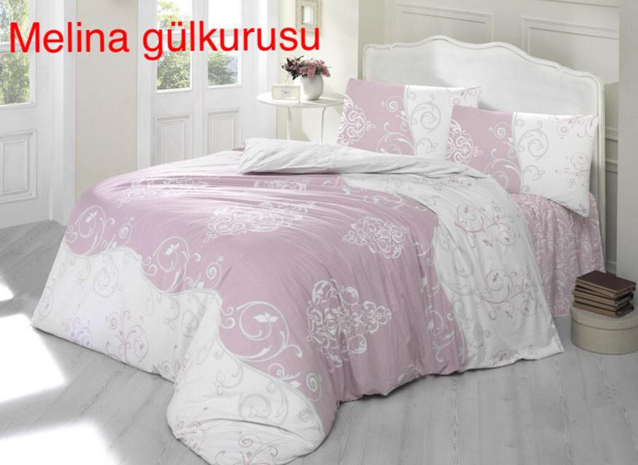"""Постельное белье Altinbashak crasoft (евро-размер) ранфорс """"Melina Gulkurusu"""""""