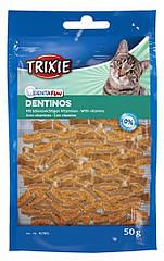 Лакомство Trixie Denta Fun Dentinos для кошек, очищение зубов, 50 г