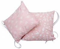 Бампер-подушки для кроватки Лесные жители, розовый, 2 шт Twins (2000.27.63.08)