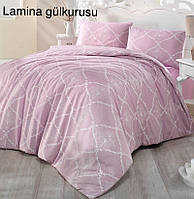 """Постільна білизна Altinbashak crasoft (євро-розмір) ранфорс """"Lamina Gulkurusu"""""""