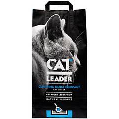 Наполнитель Cat Leader для кошек ультра-комкующийся глиняный, 5 кг