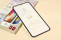 Защитное стекло 5D для iPhone Xr (Black)