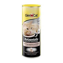 Витамины Gimcat Katzentabs для кошек с сыром маскарпоне и биином, 710 шт