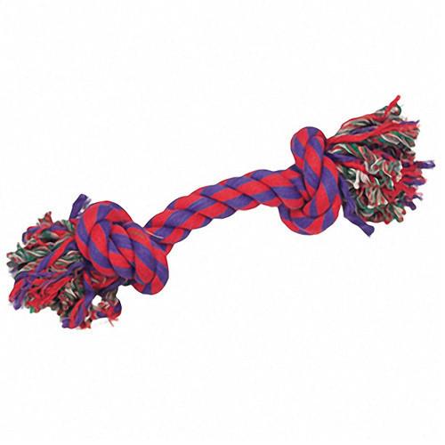 Игрушка Karlie-Flamingo Cotton Bone 2Knots для собак текстиль, 22 см