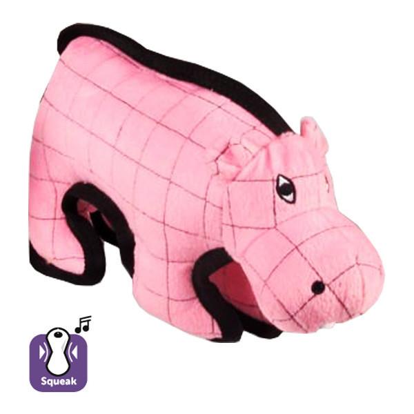 Іграшка Karlie-Flamingo Strong Hippo для собак м'яка, 28х9.5х28 см