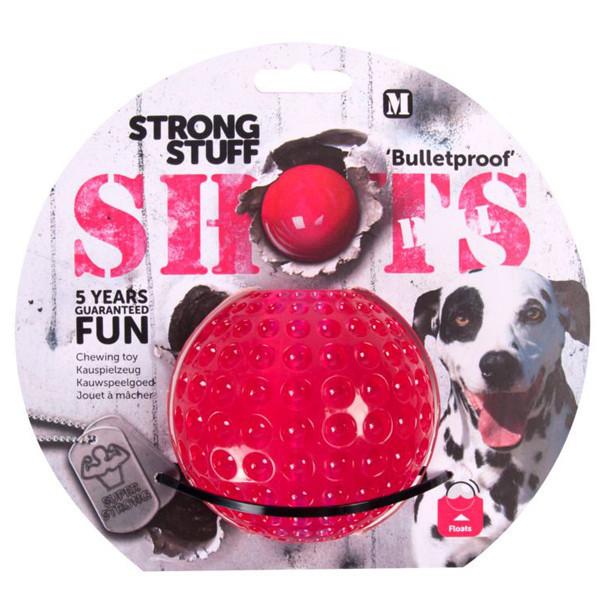 Мяч Karlie-Flamingo Shots Ball для собак резина, 9 см