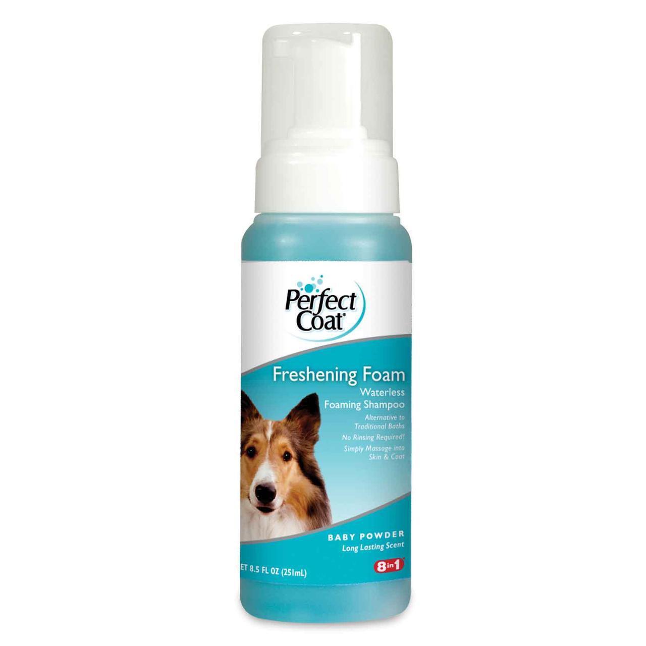 Шампунь-пена 8 in 1 Waterless Foam Shampoo для собак безводный, 251 мл