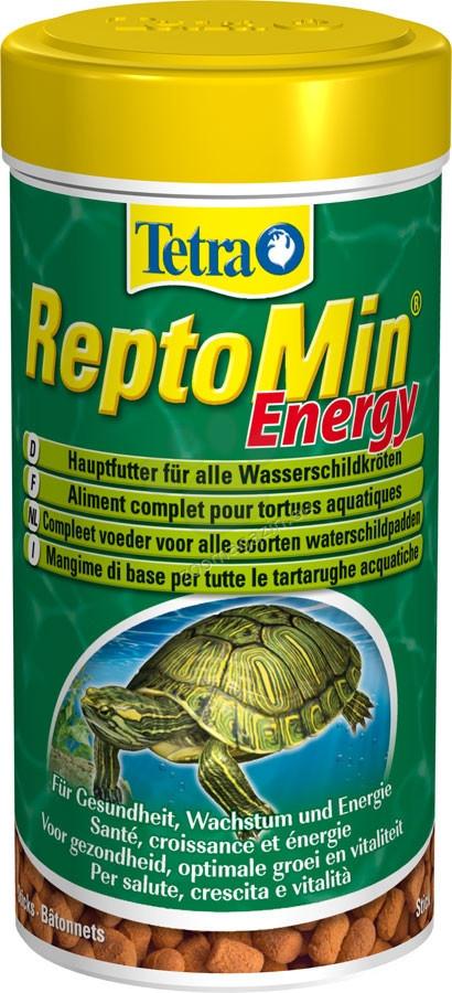 Корм Tetra ReptoMin Energy для черепах в гранулах, 250 мл