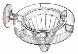 Кормушка Trixie Feeding Ring with Sieve для аквариума, пластик, 7 см