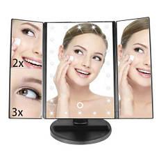Косметическое настольное зеркало для макияжа 22 LED подсветкой  Magic Make