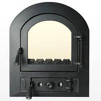 Каминные дверцы Николетта 450*530мм.Для камина печи барбекю