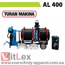 Стыковая сварка Turan Makina AL 400 Сварочный аппарат стыковой сварки полиэтиленовых ПНД ПЭ пластиковых труб