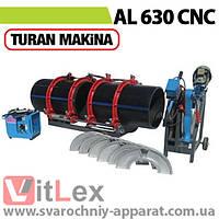 Стыковая сварка Turan Makina AL 630 CNC Сварочный аппарат стыковой сварки полиэтиленовых ПНД ПЭ пластиковых труб