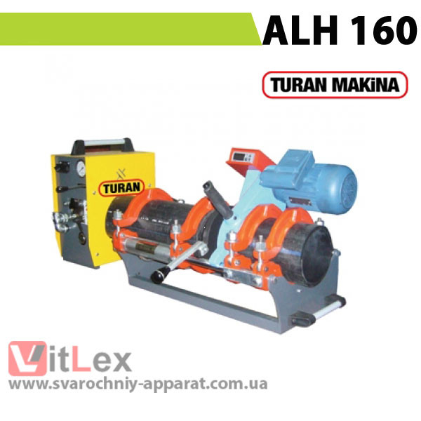Стыковая сварка Turan Makina ALH 160 Сварочный аппарат стыковой сварки полиэтиленовых ПНД ПЭ пластиковых труб