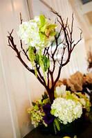 Украшение свадьбы цветами, цветы на столы, букеты, бутоньерки, украшение торта цветами, высокие композиции в м