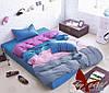 Комплект постельного белья поплин Тм Таg полуторный размер art039