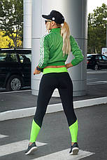 Спортивные лосины S, L, XL (44-46, 48-50, 50-52)  Лосины женские для фитнеса спорта тренировок, фото 2
