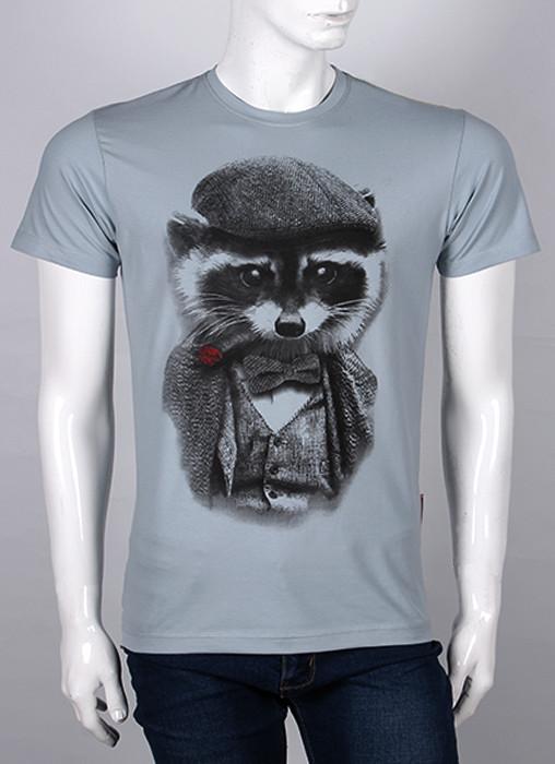 Мужская футболка с принтом Валимарк ЕНОТ, ростовка, оптом, по ценам производителя