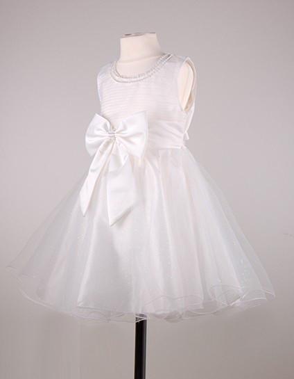Нарядное  детское белое платье на выпускной или свадьбу