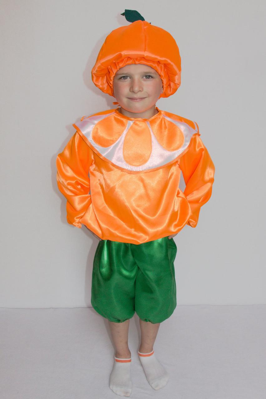 Детский карнавальный костюм Апельсина