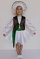 Карнавальный костюм   Гриб  Боровик для девочки