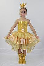 Карнавальный костюм для девочек Золотая рыбка