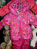 Детская демисезонная куртка и полукомбинезон для девочки, фото 7