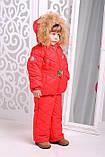 Зимняя куртка  и полукомбинезон  для девочки, фото 2