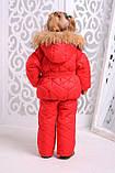 Зимняя куртка  и полукомбинезон  для девочки, фото 4