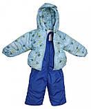 Демисезонная куртка и  штаны на лямках для мальчика, фото 4