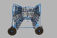 Сцепка боронная гидрофицированая прицепная СБГП-15+Бороны БЗТС-1.0з-15 шт.