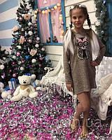 Платье с пайетками для девочек, фото 1